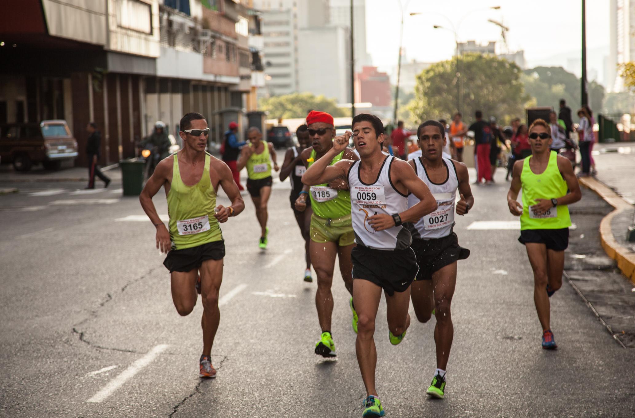 Media Maratón Caracas 2013 # 1