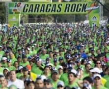 La fiesta del rock y el running en Caracas