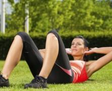 Importancia de la zona abdominal y lumbar para un corredor