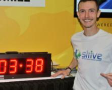 Nuevo record mundial de 21k en cinta