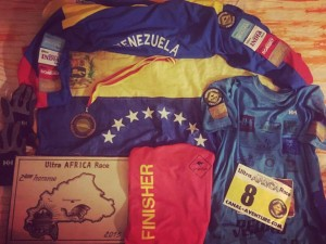 Pedro Vera finisher en UltraAfricaRace2015