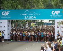 William Rodríguez y Zuleima Amaya ganan la quinta edición del Maratón CAF Caracas