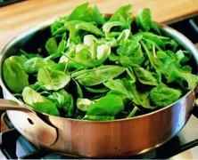 Beneficios de las espinacas en la dieta del corredor
