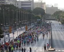 Willian Díaz, Arelis Rodríguez y Cirilo Sánchez triunfaron en la media maratón Simón Bolívar