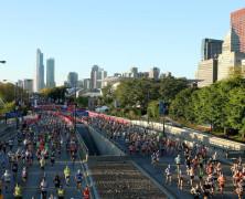 Así fue el maratón de Chicago