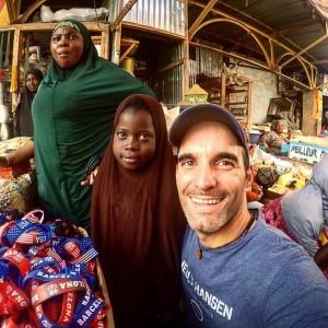 Pedro Vera en Burkina Faso