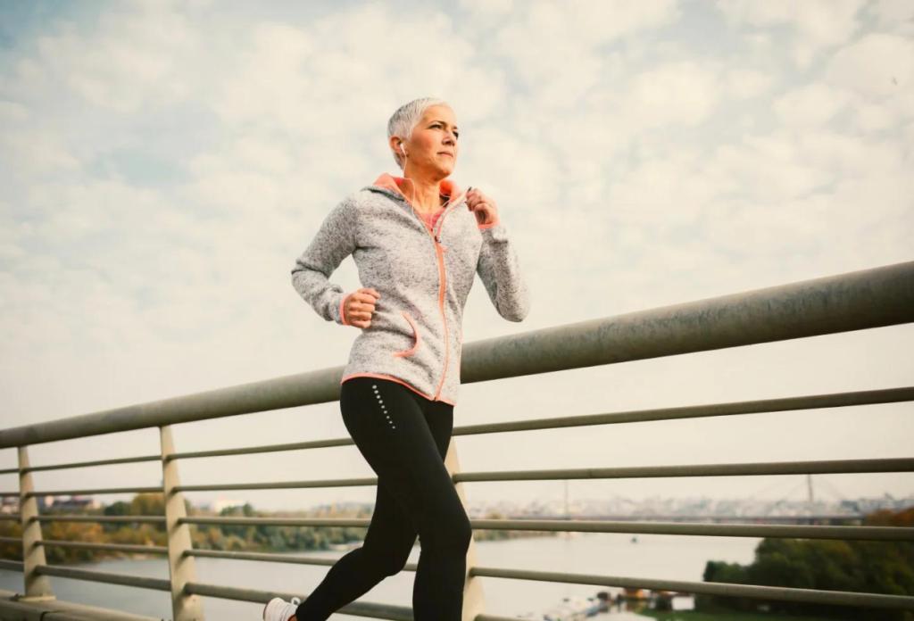 Beneficios de correr para mujeres de 45